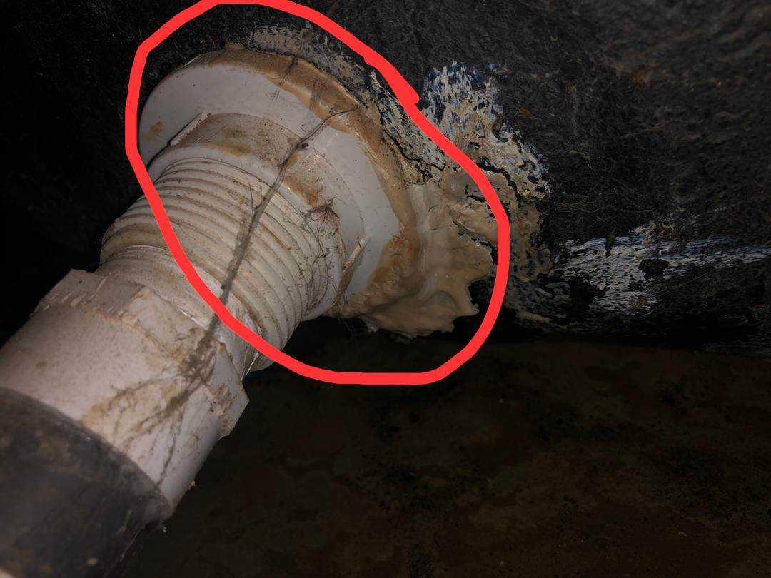 Faulty Polytank connector